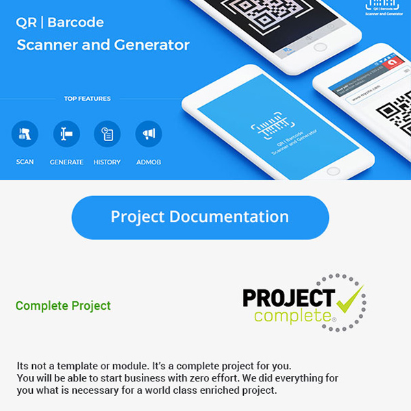 QR Code & Barcode Scanner and Generator for iOS
