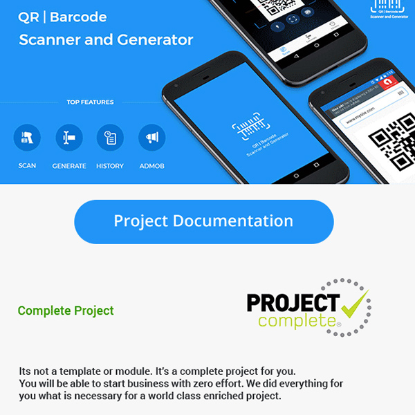 QR code and Barcode scanner and generator
