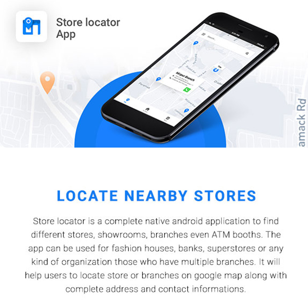 Store Locator Android App |Locate Store, Branches