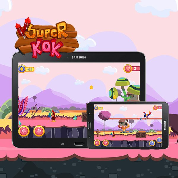 Super KOK | User control Cock runner game by Unity