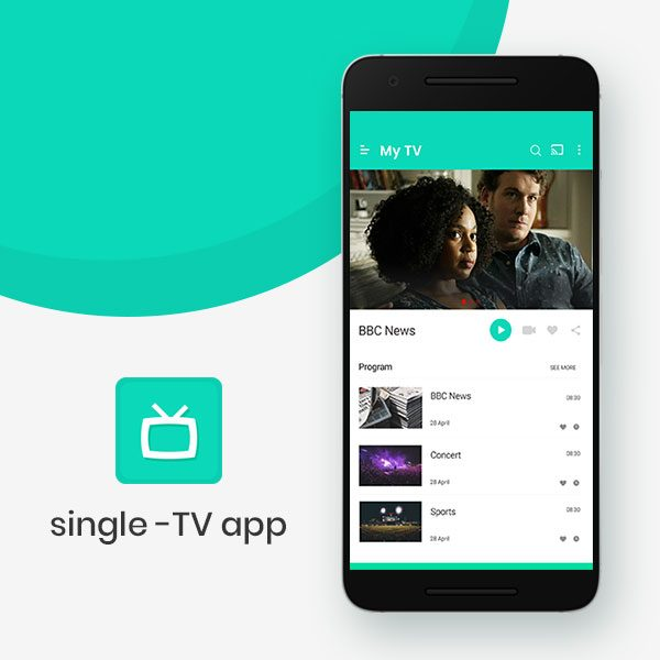 Single Channel TV | IP Streaming TV